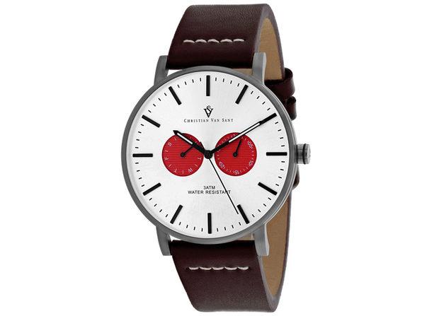 Christian Van Sant Men's Relic Silver Dial Watch - CV0542