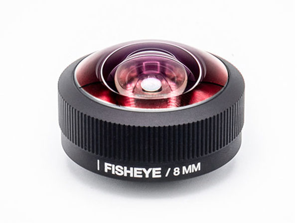 Lemuro 8MM iPhone Fisheye Lens (Black Aluminum)