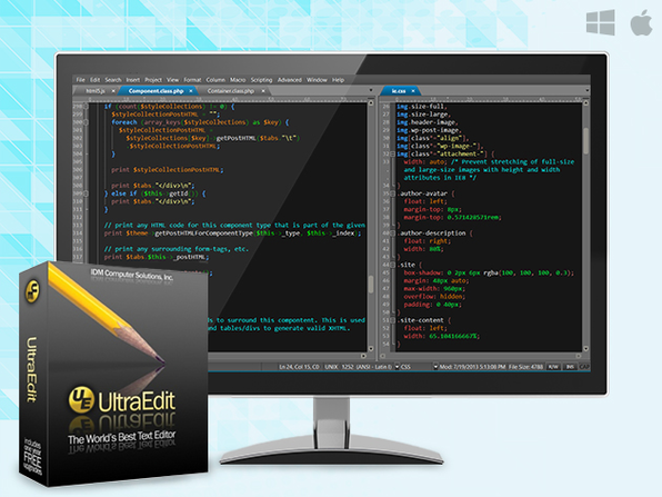 UltraEdit – Simply The World's Best Text Editor - Product Image