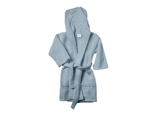 Alvare Luxury Kids Robe (Sky/Small-Medium)