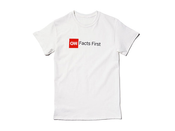 Facts First Tee White 2XL