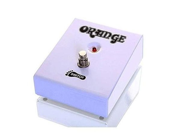 Orange Amps FS1 Single Button Footswitch Amplifier Part - MultiColored (Like New, Damaged Retail Box)