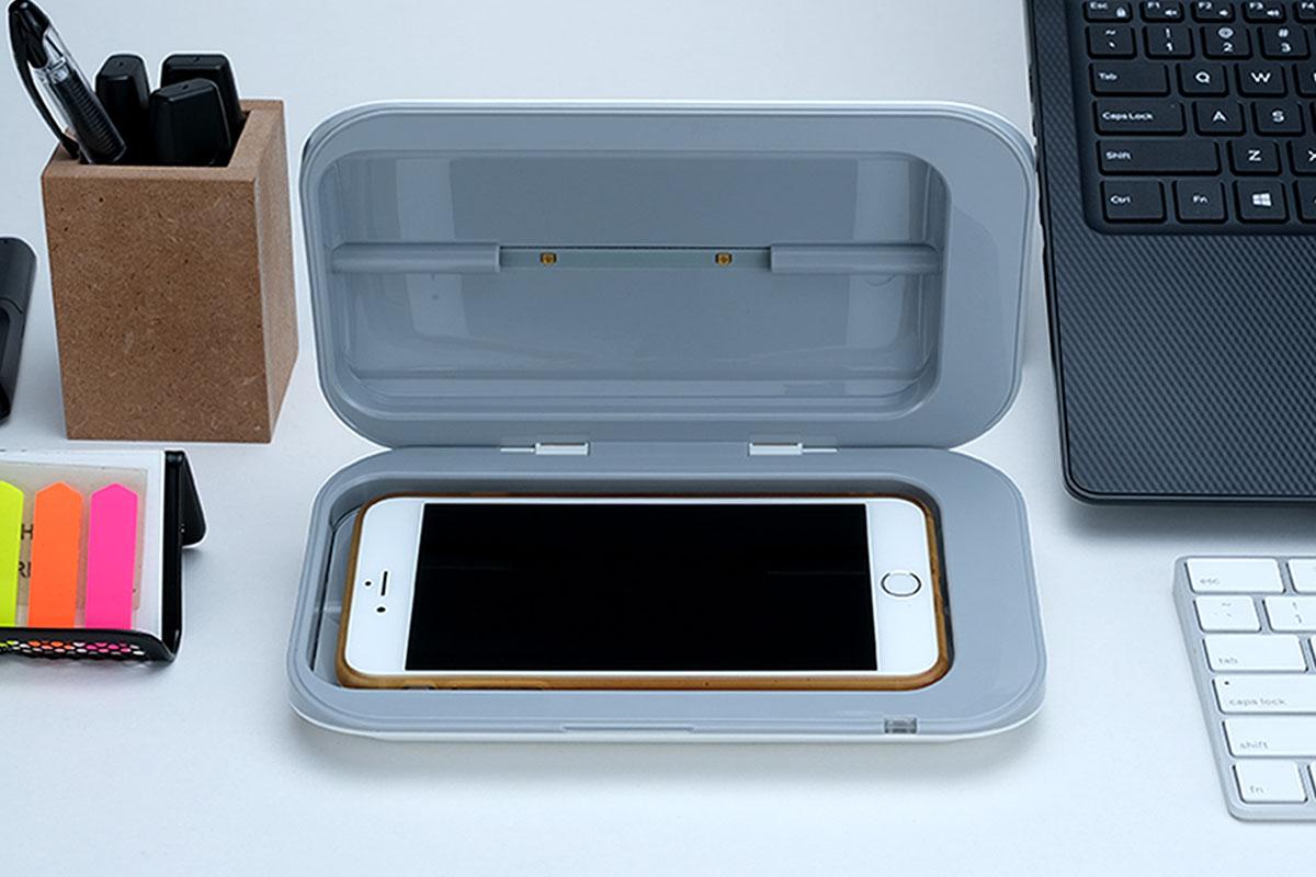 MedisanUV-C Phone Sanitizer, on sale for $82.99 (17% off)