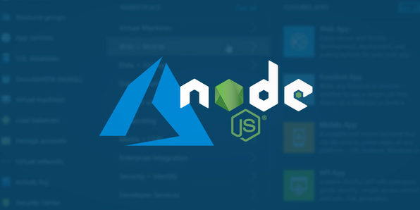 Azure Deployment for Node.js Applications - Product Image