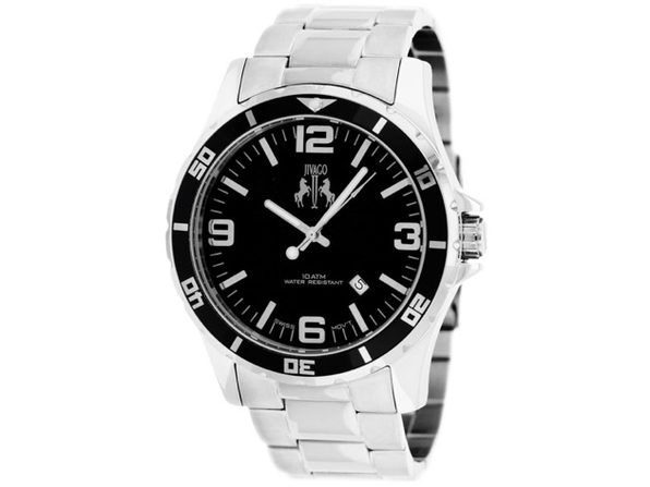 Jivago Men's Ultimate Black Dial Watch - JV6117 - Product Image