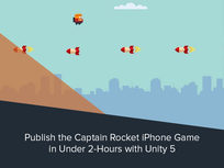 Publish the Captain Rocket iPhone Game in Under 2-Hours with Unity 5 - Product Image