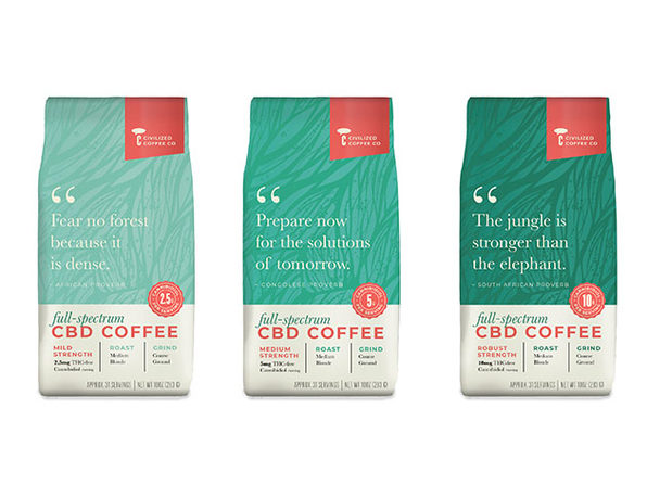 Full-Spectrum CBD Coffee 6-Pack