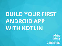 Kotlin for Android: Build Your First Android App with Kotlin - Product Image