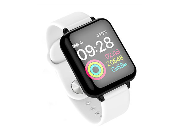 Smart Fit Multi-Functional Wellness & Fitness Watch (White)