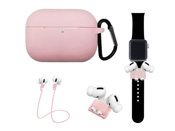 Airpods Pro Accessory Bundle Pink - Product Image