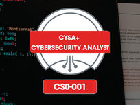 CompTIA CySA+ Cybersecurity Analyst (CS0-001) Prep Course - Product Image