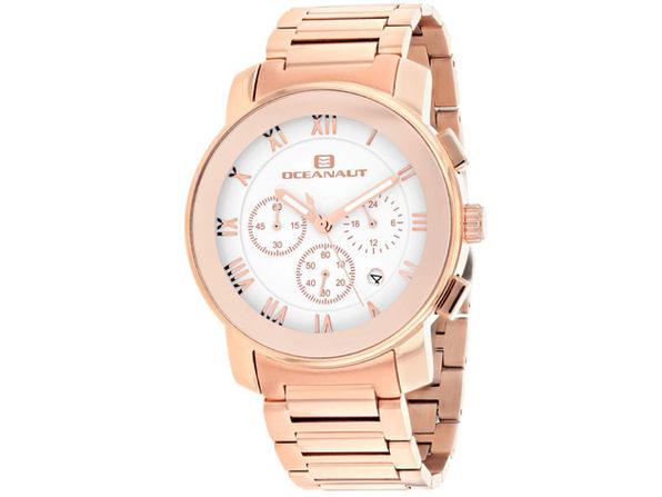 Oceanaut Men's Riviera White Dial Watch - OC0334