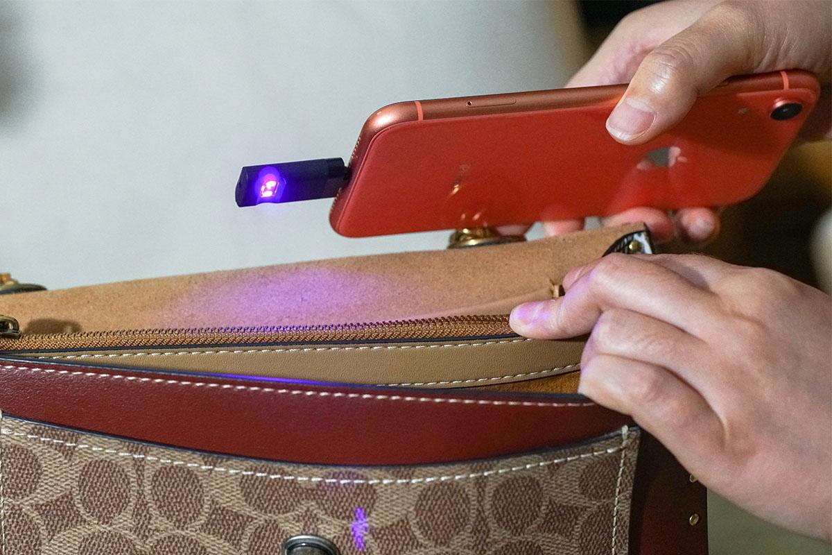 Mister UV Pocket Sterilizer Phone Attachment (Bundle of 2), on sale for $39.99 (66% off)