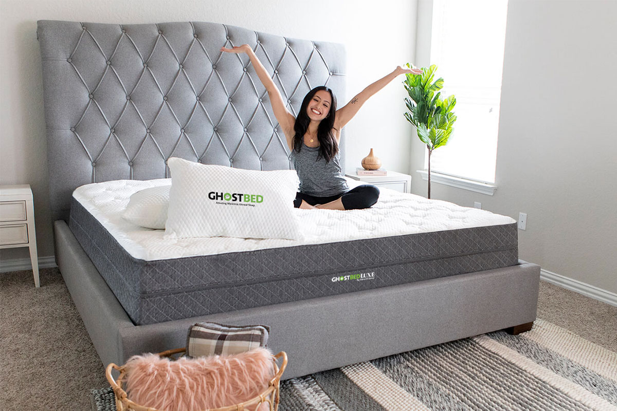 GhostBed® Luxe 13″ Cooling Mattress, on sale for $1221.99 (29% off)
