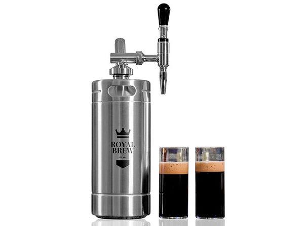 Royal Brew Nitro Coffee Maker (Stainless Steel/128oz)