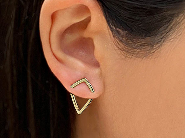 Sonia Hou TRILL 2-Way Convertible Earring Jacket (Sterling Silver)