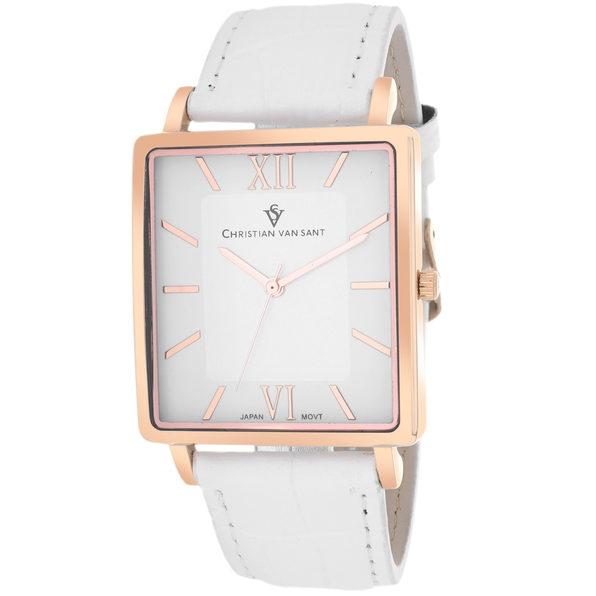 Christian Van Sant Men's Monte Cristo White Dial Watch - CV8513 - Product Image