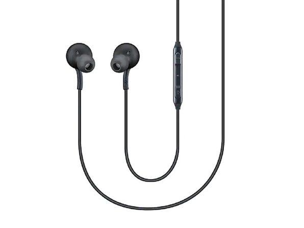 Samsung Earphones Tuned by AKG Black Bulk Packaging (Certified Refurbished)