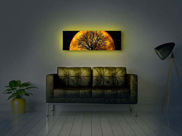 Moderndek Backlit Canvas