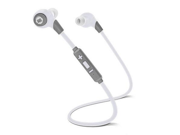 BK SPORT Bluetooth 4.0 Headphones (White)
