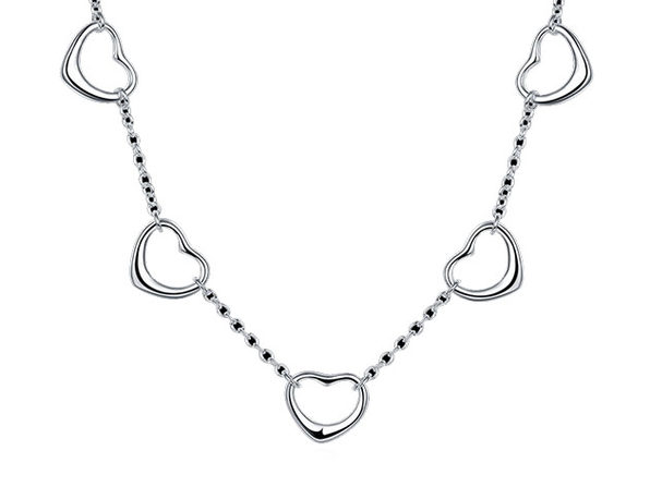 Connecting Hearts Necklace