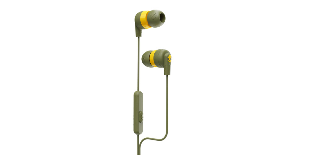 Skullcandy Ink'd®+ Earbuds with Microphone, on sale for $12.99 (27% off)
