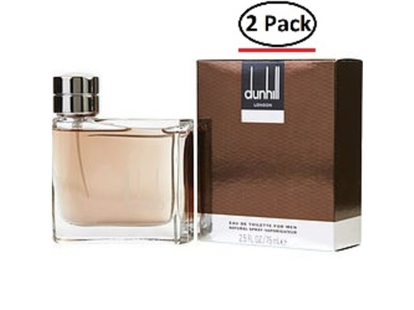Dunhill Man By Alfred Dunhill Edt Spray 2.5 Oz For Men (Package Of 2)