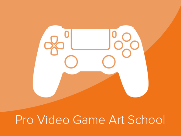 Professional Video Game Art School Course - Product Image