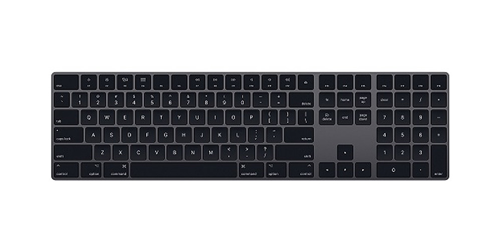 Apple Magic Keyboard with Numeric Keypad – Space Gray (Refurbished) on sale for 19% off at $119.99