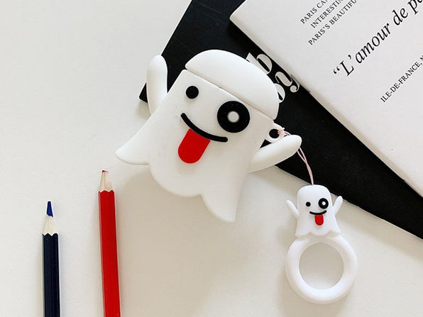 Silicone Earphone Case For Apple Airpods Ghost - Product Image