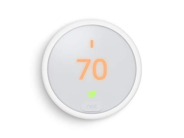 Google T4000E Remote Control Frosted Display Energy Saving Nest Thermostat-White (Used, Damaged Retail Box)