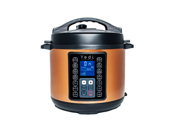 Yedi 9-in-1 Total Package Instant Programmable 6 QT Pressure Cooker (Copper)