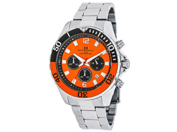 Oceanaut Men's Sevilla Orange Dial Watch - OC2522