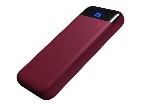 Skullcandy Stash™ Fuel 10,000mAh Wireless Battery Pack (Deep Red)