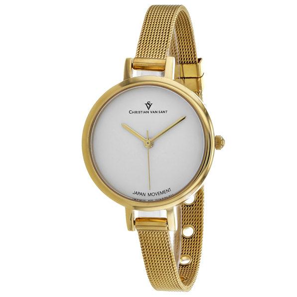 Christian Van Sant Women's Grace White Dial Watch - CV0283