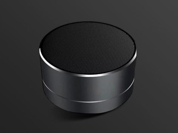 Metal Tunes Bluetooth Speaker