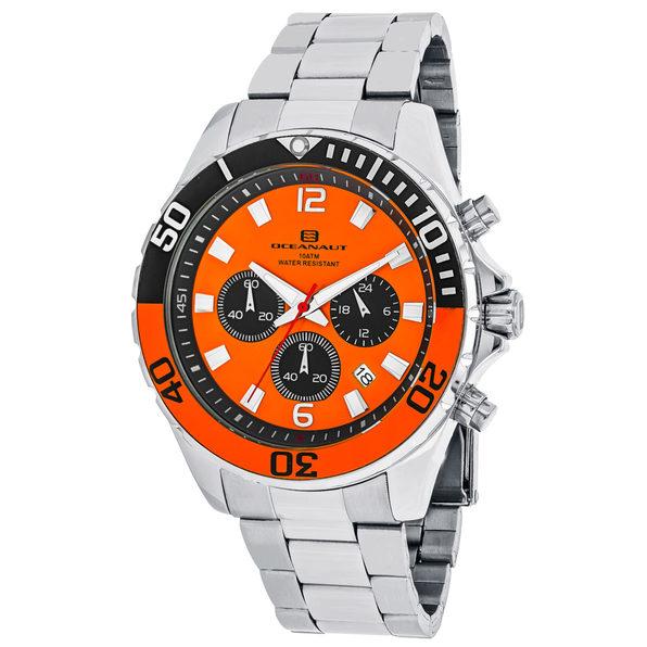 Oceanaut Men's Sevilla Orange Dial Watch - OC2522 - Product Image
