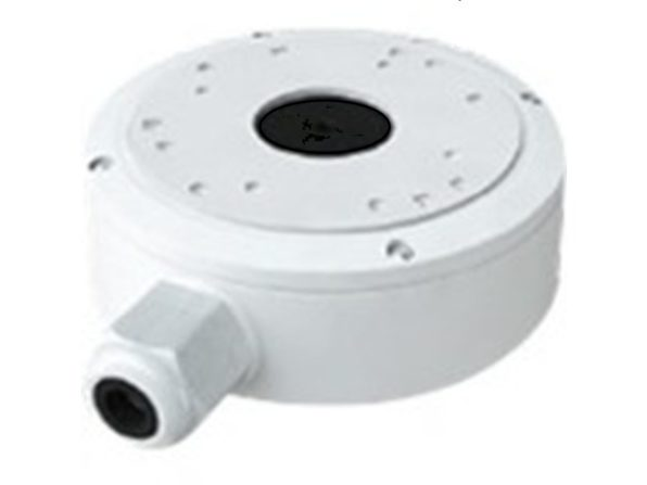 JNCTN BX FOR SMLL TURRET DOME & LG BULLT CAM, WHT - Product Image