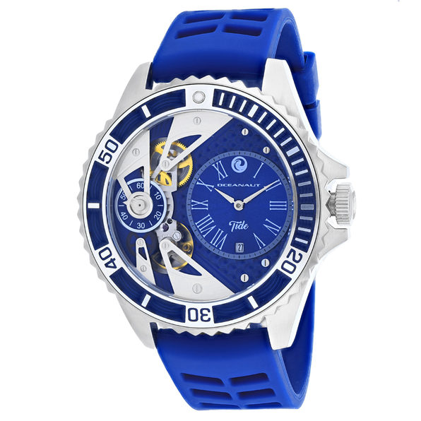 Oceanaut Men's Tide Blue Dial Watch - OC0994 - Product Image