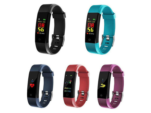 Waterproof Fitness Tracker with Sports & Overall Health Functions
