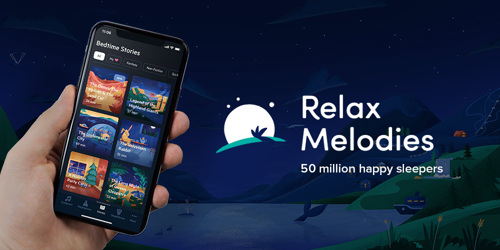 Relax Melodies Meditation App: Lifetime Subscription, on sale for $79.99 (68% off)