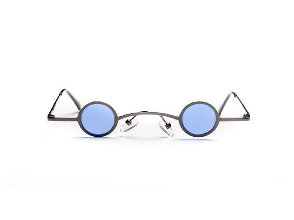 Tobias Slim Round Fashion Sunglasses