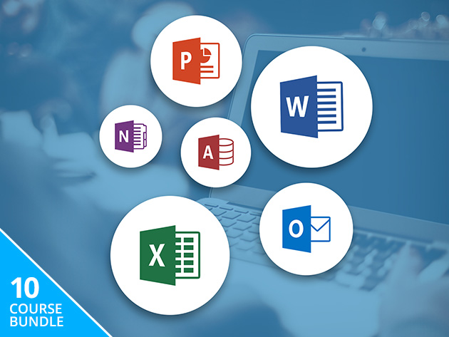 From Excel to Access, 10 Courses (56+ Hours) to Master All the Essential Microsoft Office Programs