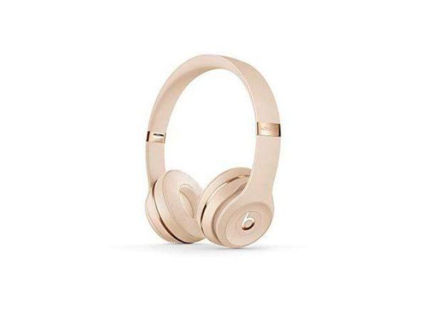 Beats Solo3 Wireless On-Ear Headphones Apple W1 Headphone Chip - Satin Gold -- (Used, Open Retail Box)
