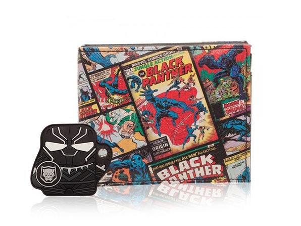 Black Panther Bluetooth Tracker & Wallet Bundle