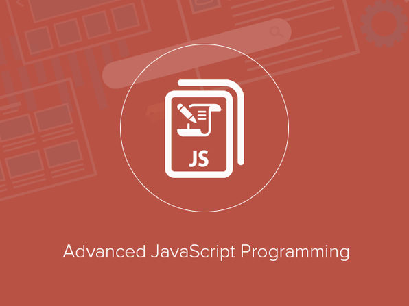 Advanced JavaScript Programming - Product Image