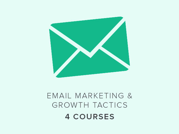 4 Courses: Email Marketing & Growth Tactics - Product Image