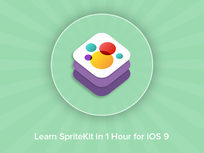 Learn SpriteKit in 1 Hour for iOS 9! - Product Image