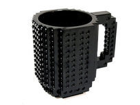 Build-On Brick Mug - Black - Product Image
