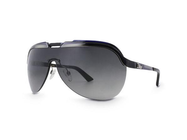 Dior Solar Sunglasses Black - Product Image